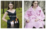 Carven 2013 AW campaign