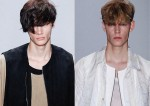 Runway Hairstyle spring 2015 Menswear Collection